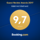 Booking.com award B&B Het Wellnest