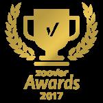 B&B Het Wellnest Zoover Award 2017